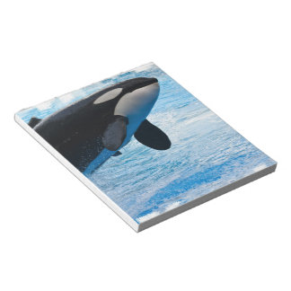 Whale of a Time  Notepad