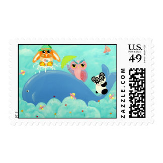 Whale Of A Time! Stamp