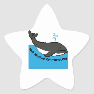 Whale Of Fortune Star Stickers