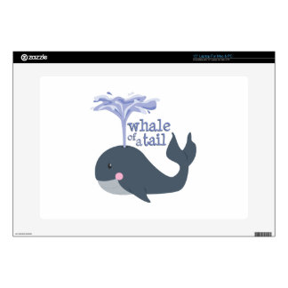 """Whale Of Tale Skin For 15"""" Laptop"""