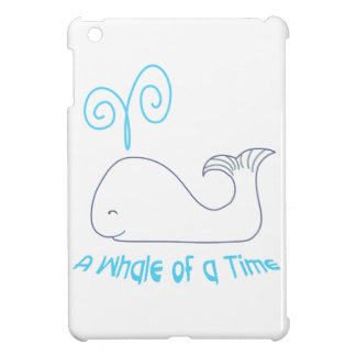 Whale Of Time Applique iPad Mini Cover