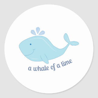Whale Of Time Sticker