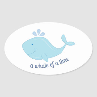 Whale Of Time Stickers