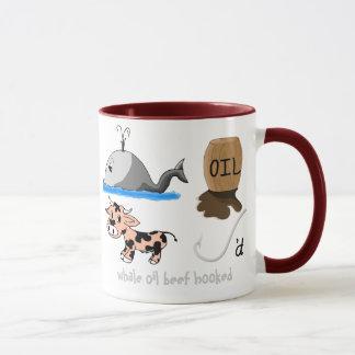 Whale Oil Beef Hooked fun slogan Mug