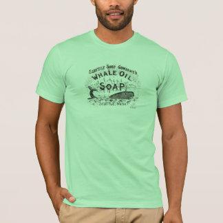 Whale Oil Soap Vintage Retro T-Shirt