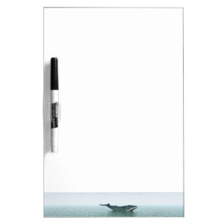 Whale on the sea Dry-Erase board
