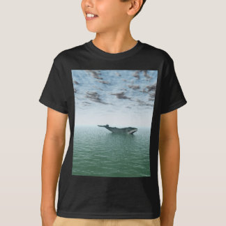Whale on the sea T-Shirt