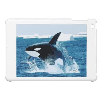 Whale Orca  Water Animal Sea Ocean Fish Peace Love Case For The iPad Mini