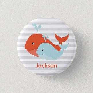 Whale Pals Button