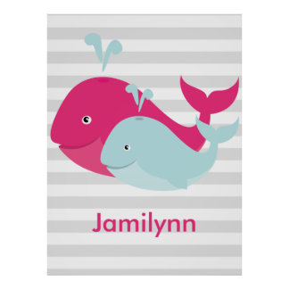 Whale Pals Posters