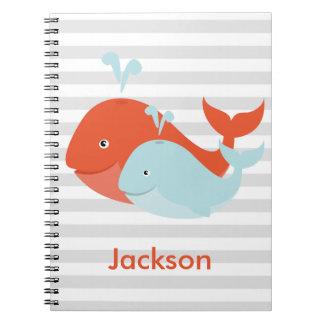 Whale Pals Spiral Notebook