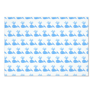 Whale Pattern. Card