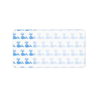 Whale Pattern. Label