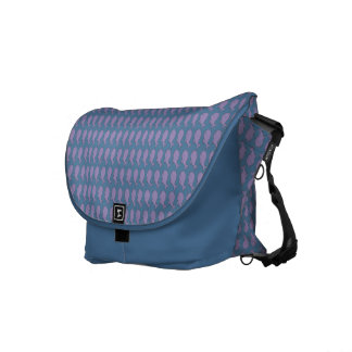 Whale pattern courier bags