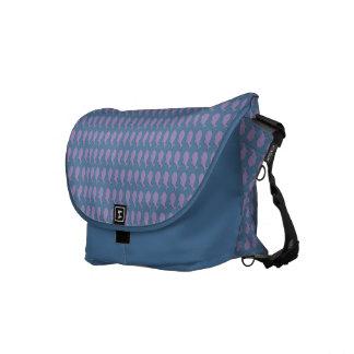 Whale pattern messenger bag