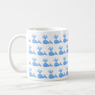 Whale Pattern Mug