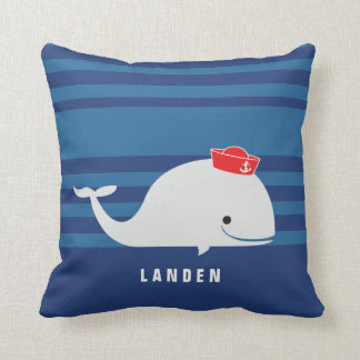 Whale | Personalized Pillow