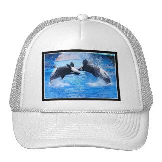 Whale Photo Baseball Cap Trucker Hat