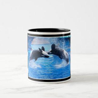 Whale Photo Ceramic Coffee Mug