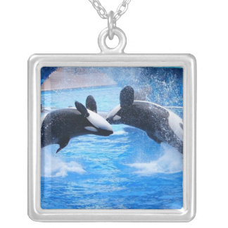 Whale Photo Necklace