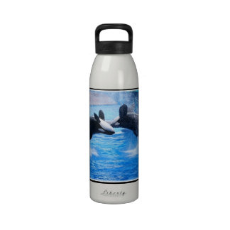 Whale Photo Water Bottle
