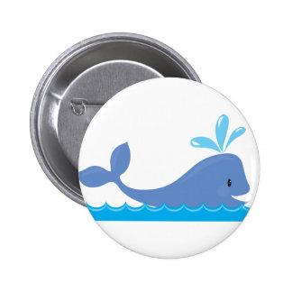 Whale Pinback Button