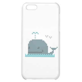 Whale Pixel Art Case iPhone 5C Covers