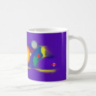 Whale Planets Classic White Coffee Mug