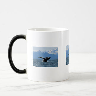 Whale Playtime 11 Oz Magic Heat Color-Changing Coffee Mug