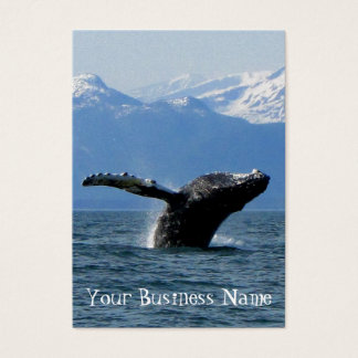 Whale Playtime Business Card