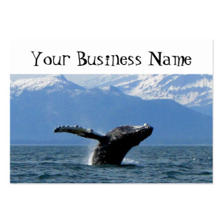 Whale Playtime Large Business Card