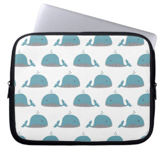 Whale Print Computer Sleeves