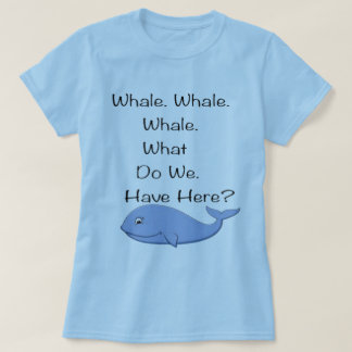 Whale Pun Tee