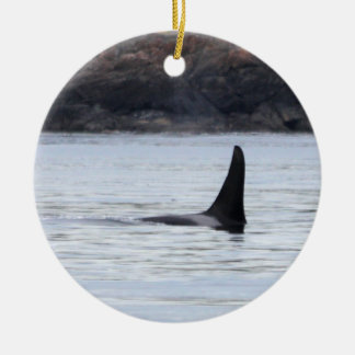 Whale: Resident Orca Whale Killer Whale Ceramic Ornament