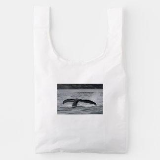 whale reusable bag