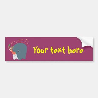 whale ride bumper sticker