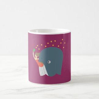 whale ride coffee mug