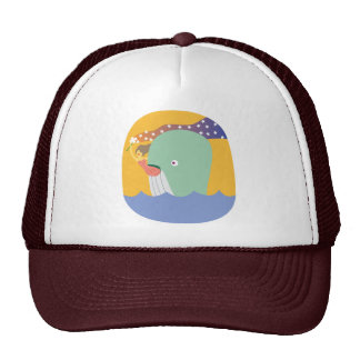 whale ride mesh hats