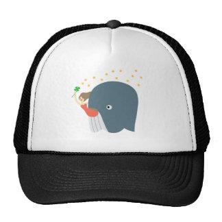 whale ride trucker hat