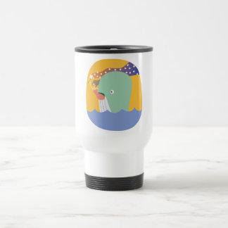whale ride travel mug