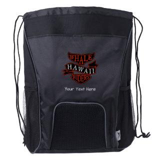 Whale Rider Drawstring Bag