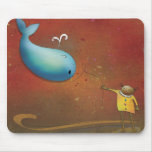 Whale Rider - New Zealand Mouse Pads