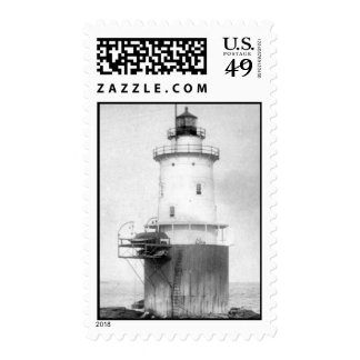 Whale Rock Lighthouse Postage Stamps