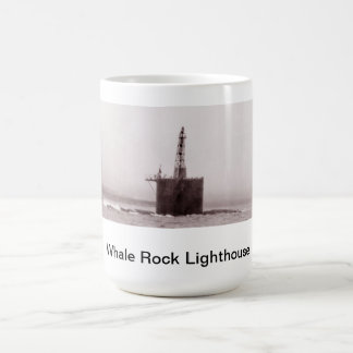 Whale Rock Lighthouse's Base Mug