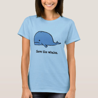 whale, Save the whales. T-Shirt