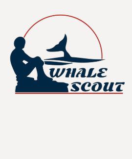 Whale Scout Women's Baseball Tee