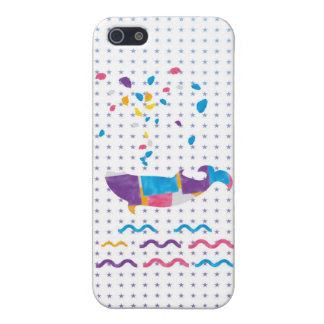 Whale sea whale cute sea whale lovely iPhone Cover For iPhone SE/5/5s