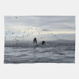Whale Sealife Hand Towel