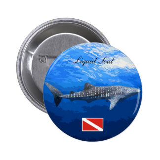 Whale Shark Boton Pinback Buttons