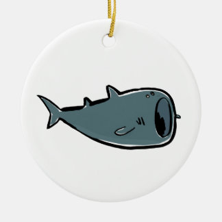 whale shark ceramic ornament